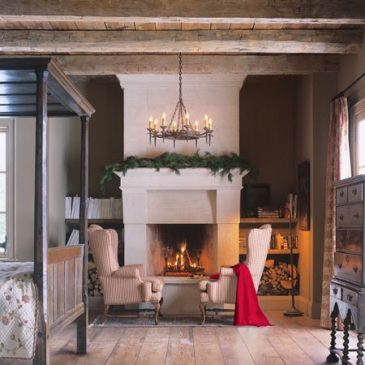 Beautified rooms with Limestone Fireplaces