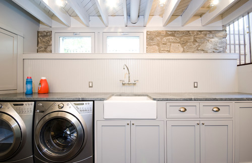 Laundry rooms with soapstone!