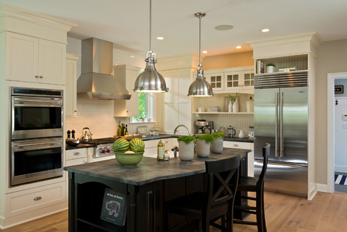 Real looking soapstone countertops