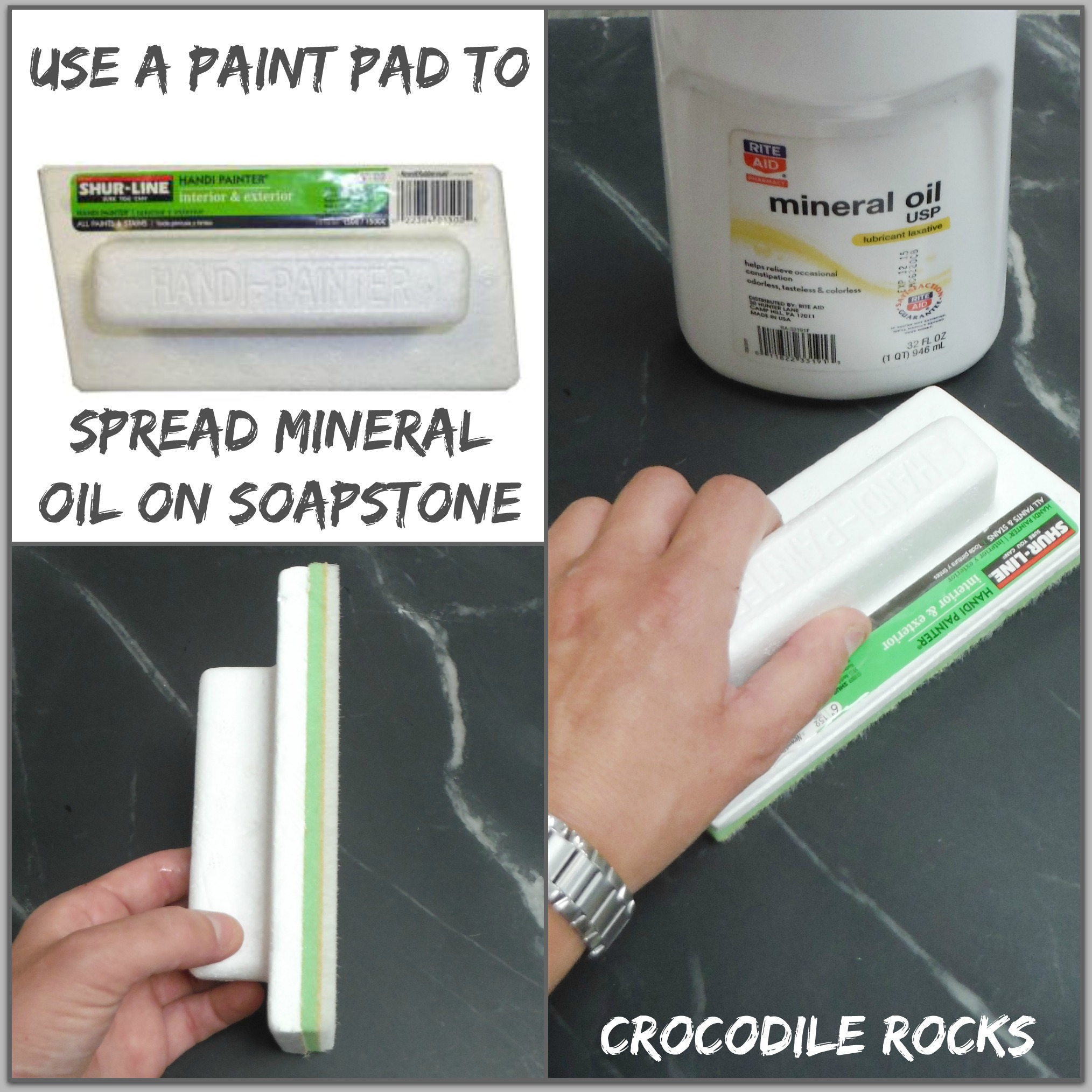 Easy oiling applicator – SEATTLE SOAPSTONE on